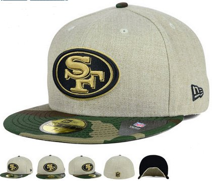 San Francisco 49ers Fitted Hat 60D 150229 48